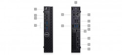 DELL OptiPlex MFF 3070/Core i5-9500T/8GB/256GB/Intel UHD 630/Wifi/Win 10 Pro 64bit/3Yr NBD