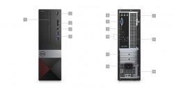 DELL Vostro 3471 SFF/i3-9100/4GB/128GB/Intel UHD/DVD-RW/WiFi/BT/Win10 Pro 64bit