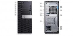DELL OptiPlex MT 5070/Core i7-9700/16GB/256GB SSD/Intel UHD 630/DVD-RW/W10P/3Yr PS NBD