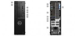DELL Precision T3431/i5-9500/8GB/256GB SSD/Intel UHD/DVDRW/klávesnice+myš/W10P