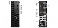 DELL Precision T3431/i5-9500/8GB/256GB SSD/Intel UHD/DVD-RW/W10P/3y PS NBD